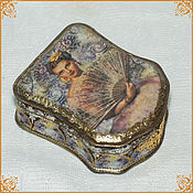 "Подарки к праздникам handmade. Livemaster - original item Bag ""Fans, lace ..."". Handmade."