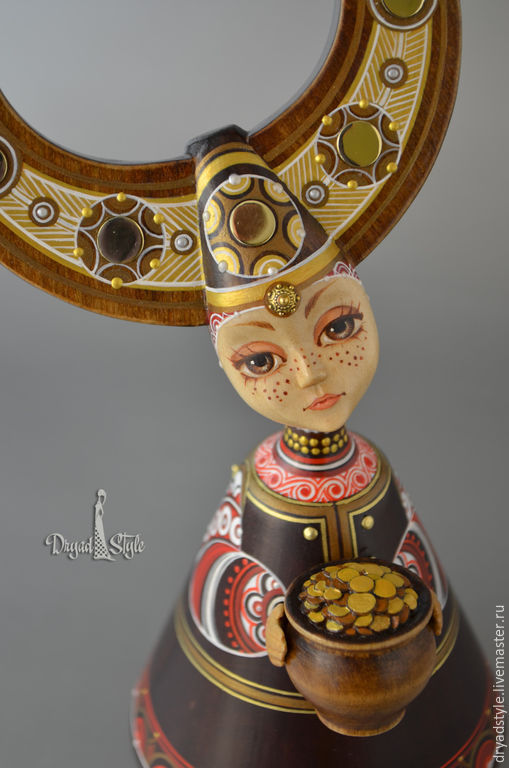 Коллекционные куклы ручной работы. Ярмарка Мастеров - ручная работа. Купить Златка.Куколка-оберег. Handmade. Авторская кукла, мифы