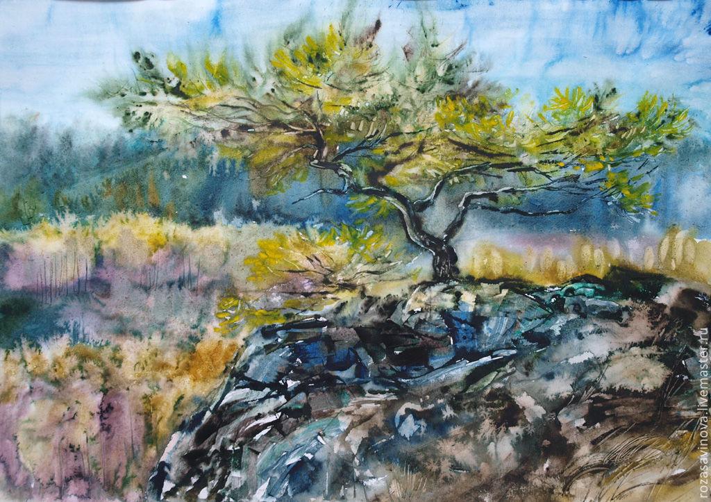 И на камнях растут деревья, Картины, Магнитогорск,  Фото №1