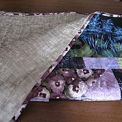 """Для дома и интерьера ручной работы. Ярмарка Мастеров - ручная работа Покрывало """"Ночной сад"""". Handmade."""