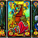 Заказать Symbolon Astrologia Mysterium taro. Мир Таро. Арт-галерея Риты Нун. Ярмарка Мастеров. . Карты Таро Фото №3