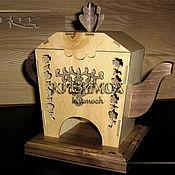 """Для дома и интерьера ручной работы. Ярмарка Мастеров - ручная работа Чайный домик """"Чайничек"""". Handmade."""