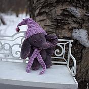 Куклы и игрушки ручной работы. Ярмарка Мастеров - ручная работа Мини-слоник Сливка, друг Тедди. Ед.экземпляр.. Handmade.