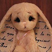 Куклы и игрушки ручной работы. Ярмарка Мастеров - ручная работа Зайка Счастливчик. Handmade.