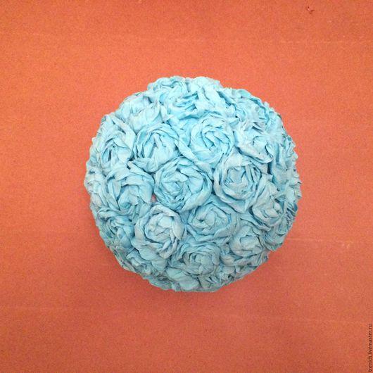 Дизайн интерьеров ручной работы. Ярмарка Мастеров - ручная работа. Купить Интерьерные шары из роз. Handmade. Комбинированный, розы из бумаги