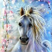 Картины и панно ручной работы. Ярмарка Мастеров - ручная работа Небесная лошадка. Handmade.