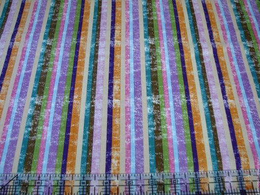 Шитье ручной работы. Ярмарка Мастеров - ручная работа. Купить 1311 Совы. Американская ткань. Handmade. Комбинированный, ткань в полоску