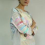 """Одежда ручной работы. Ярмарка Мастеров - ручная работа Блуза """"Воздушный рис"""" свитшот женский,пэчворк.. Handmade."""