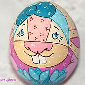 Подарки к праздникам ручной работы. Ярмарка Мастеров - ручная работа Яйцо Пасхальный кролик. Handmade.