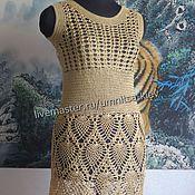 Одежда handmade. Livemaster - original item Knitted summer dress