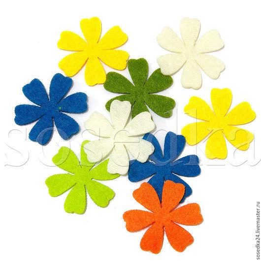 OK-0119 цветы из фетра готовые