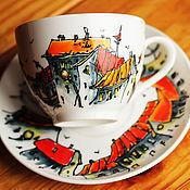 Посуда ручной работы. Ярмарка Мастеров - ручная работа Сказочный городок. Handmade.