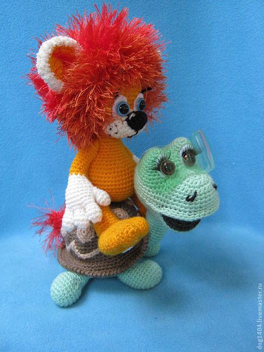 Обучающие материалы ручной работы. Ярмарка Мастеров - ручная работа. Купить Мк по вязанию игрушек Солнечный львенок и Веселая черпаха. Handmade.