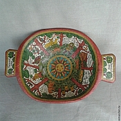 Русский стиль handmade. Livemaster - original item The dish ancient big