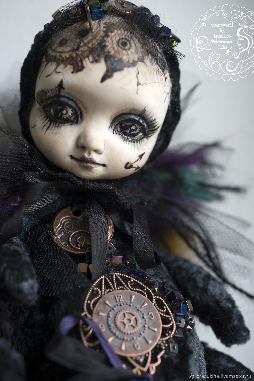 Teddy-doll box the fly 'Time'. Toy-stash, Dolls, Sevastopol,  Фото №1