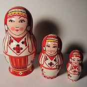 Русский стиль handmade. Livemaster - original item Matryoshka from the series