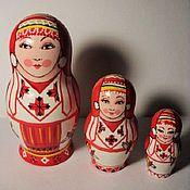 Русский стиль handmade. Livemaster - original item Matryoshka from the series