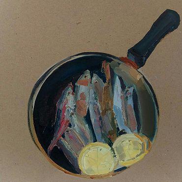 Картины и панно ручной работы. Ярмарка Мастеров - ручная работа Барабулька. Handmade.