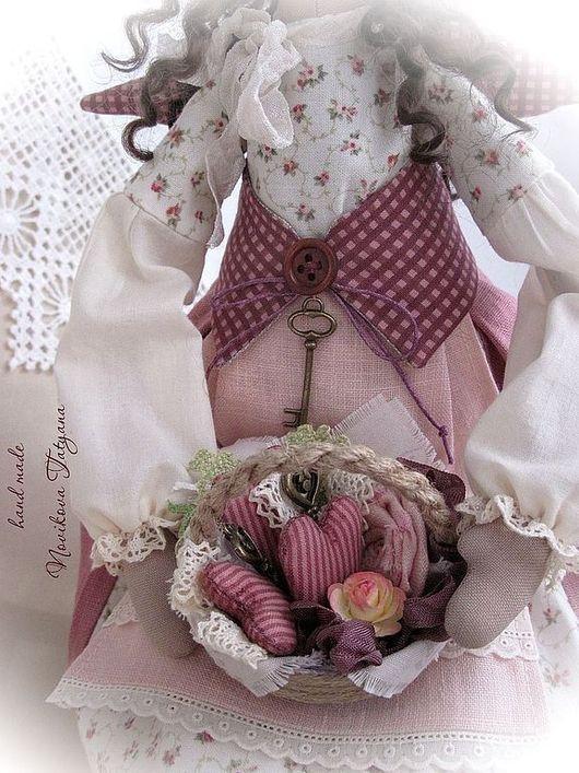 Тильда Фея Ангел Прованс Текстильная кукла Кукла Прованс  Тильда ангел Домашняя фея Домашний ангел  Стиль Прованс  Сердце  Сердечный Тильда ангел Ангел-хранитель Тильда  Фея Прованса