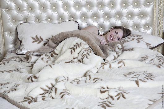 Текстиль, ковры ручной работы. Ярмарка Мастеров - ручная работа. Купить Одеяло двойное ИНЬ-ЯН. Handmade. Шерсть