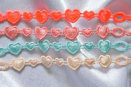 Браслеты ручной работы. Ярмарка Мастеров - ручная работа. Купить вышитые браслетики Сердечки Lolly Pop набор браслет вышитый. Handmade.