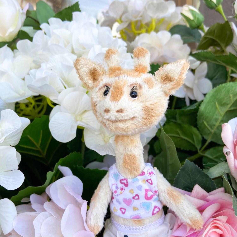 Игрушка Тедди жираф девочка, Тедди Зверята, Новосибирск,  Фото №1
