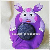 Куклы и игрушки ручной работы. Ярмарка Мастеров - ручная работа Игрушка на объектив Лунтик. Handmade.