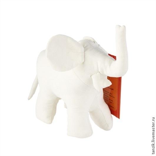 Куклы и игрушки ручной работы. Ярмарка Мастеров - ручная работа. Купить Текстильная заготовка игрушки.. Handmade. Белый, слон, заготовка