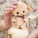 Мишки Тедди ручной работы. Ярмарка Мастеров - ручная работа. Купить Поросенок Персик. Handmade. Бежевый, тедди, игрушка
