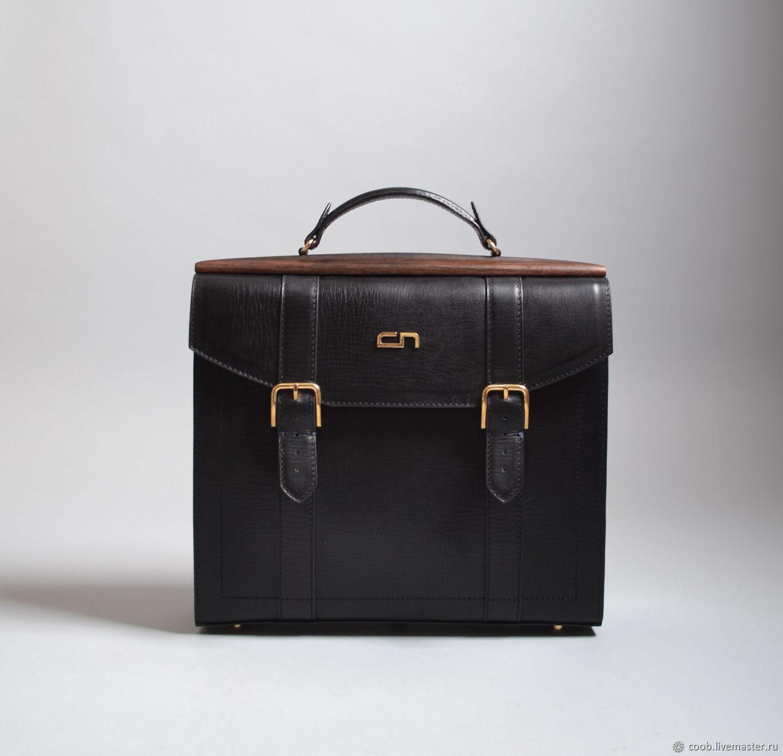 b18600064cb2 Мужские сумки ручной работы. Ярмарка Мастеров - ручная работа. Купить  Портфель из кожи с ...