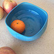 Посуда ручной работы. Ярмарка Мастеров - ручная работа Керамическая фруктовница. Handmade.