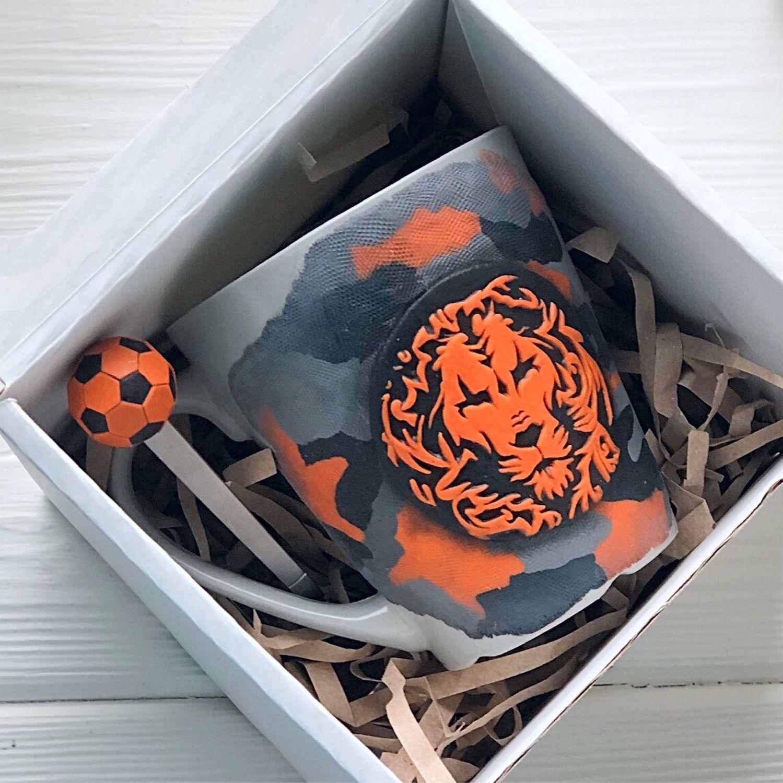 Подарок футболисту мужчине мальчику парню любимому на 23 февраля, Кружки, Москва,  Фото №1