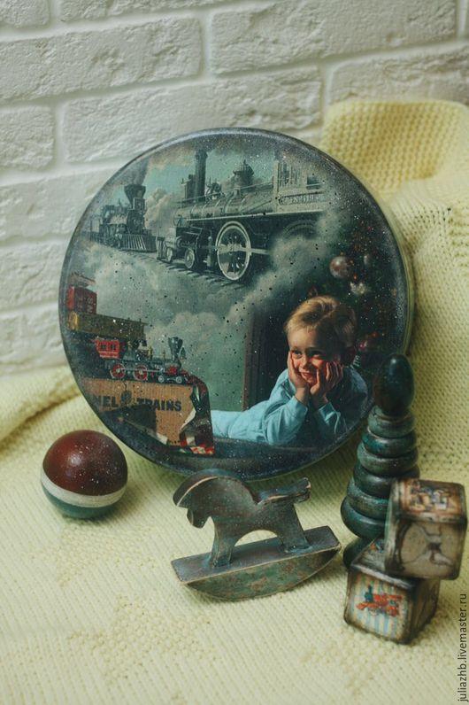 Детская ручной работы. Ярмарка Мастеров - ручная работа. Купить Спят усталые игрушки-5 (короб с игрушками). Handmade. Комбинированный