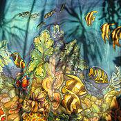 """Одежда ручной работы. Ярмарка Мастеров - ручная работа Юбка """"Коралловые рифы"""". Handmade."""
