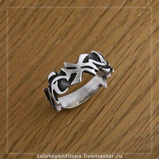 """Кольца ручной работы. Ярмарка Мастеров - ручная работа. Купить Кольцо """"Лиана"""" из серебра 925 пробы. Handmade. подарок, серебро"""