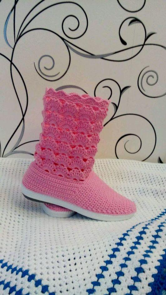 """Обувь ручной работы. Ярмарка Мастеров - ручная работа. Купить Сапожки """" Мечта"""". Handmade. Сапоги женские"""