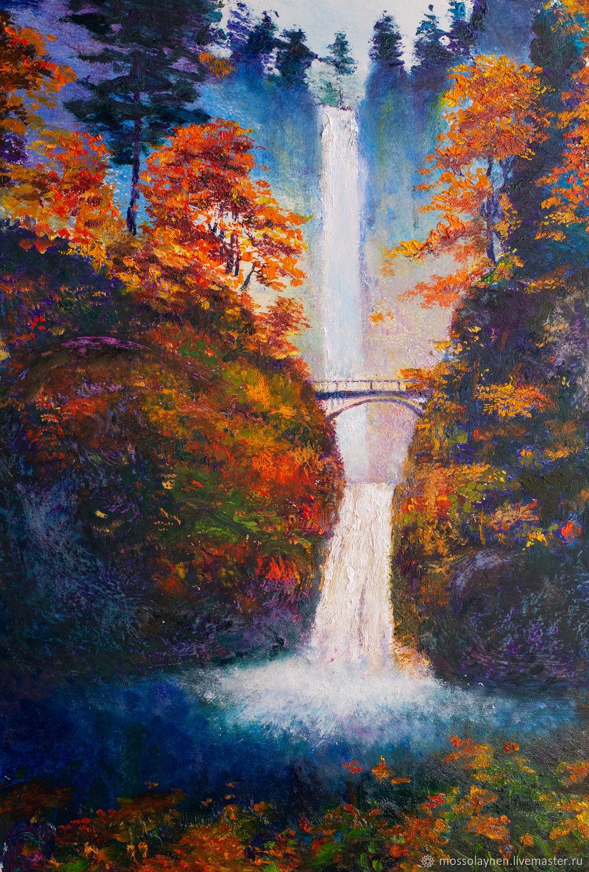 Водопад, Картины, Санкт-Петербург,  Фото №1