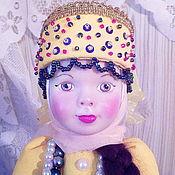 Кастом ручной работы. Ярмарка Мастеров - ручная работа Кукла грелка для чайника. Handmade.