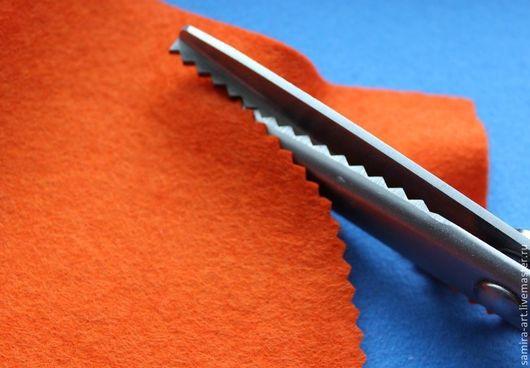 Шитье ручной работы. Ярмарка Мастеров - ручная работа. Купить Ножницы ЗИГ-ЗАГ 230мм. Handmade. Черный, ножницы фигурные
