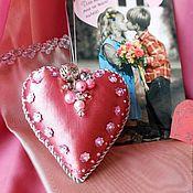 Подарки к праздникам ручной работы. Ярмарка Мастеров - ручная работа ВЛЮБЛЕННАЯ ШАЛУНЬЯ сердце-валентинка. Handmade.