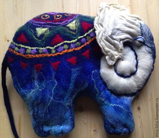 Персональные подарки ручной работы. Ярмарка Мастеров - ручная работа. Купить Волшебный слон. Handmade. Слон, сувенир, космический