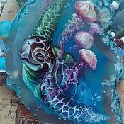 Работы для детей, handmade. Livemaster - original item Beads pendant-necklace