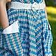 """Платья ручной работы. Платье в стиле 50-х """"Bluesky"""". Анна-Лиза (Мода вне времени ТМ). Ярмарка Мастеров."""