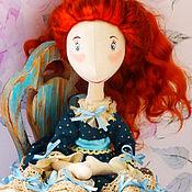 Куклы и игрушки handmade. Livemaster - original item Doll textile Claire. Handmade.