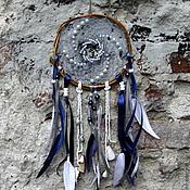 """Фен-шуй и эзотерика ручной работы. Ярмарка Мастеров - ручная работа Ловец снов """"Голубая лагуна"""". Handmade."""