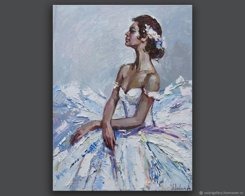 Ballerina - Original oil painting, Pictures, Anapa,  Фото №1