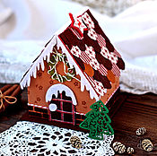 Для дома и интерьера ручной работы. Ярмарка Мастеров - ручная работа Пряничный домик. Handmade.