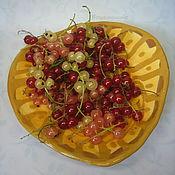 Посуда ручной работы. Ярмарка Мастеров - ручная работа Тарелочка Солнечная керамика. Handmade.