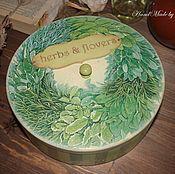 """Для дома и интерьера ручной работы. Ярмарка Мастеров - ручная работа """"Herbes & Flowers"""". Handmade."""
