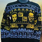 Одежда ручной работы. Ярмарка Мастеров - ручная работа Тату-свитер -  Во все тяжкие (Breaking Bad). Handmade.